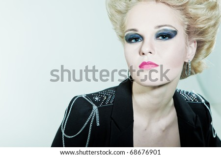 View women with high - stock photo
