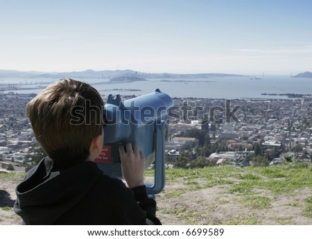 Viewing - stock photo
