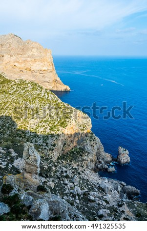 Viewpoint close to Cap Formentor, Majorca