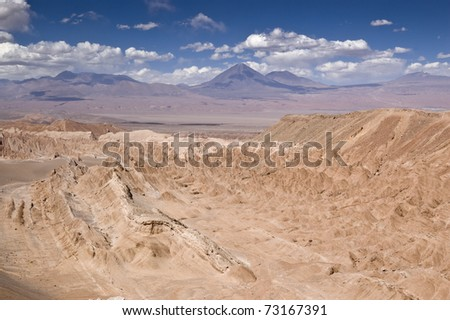 Views of Death Valley (Atacama, Chile)