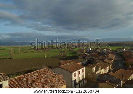 Views Rioja Baths Village Beautiful Riojan Stock Photo (Edit Now ...