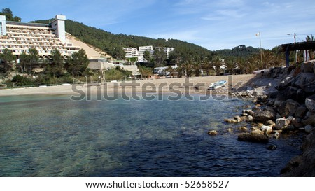 Views of the Island of Ibiza, Balearic Islands, Spain