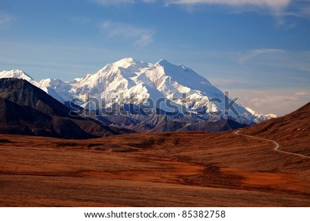 Views to Mount Mckinley