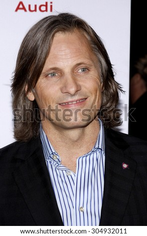 Viggo Mortensen at the AFI FEST 2009 Screening of 'The Road' held at the Grauman's Chinese Theater in Hollywood, USA on November 4, 2009.