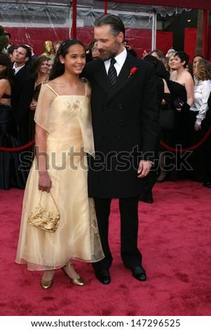 Viggo Mortensen & Niece 80th Academy Awards ( Oscars) Kodak Theater Los Angeles, CA February 24, 2008 - stock photo