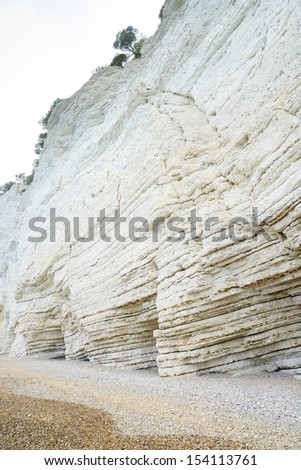 Vignanotica beach - Gargano - Puglia - Italy - stock photo