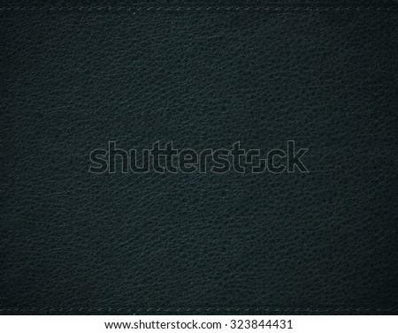 Vignette leather background. Vignette leather texture. Luxury leather texture. Abstract leather background. Black rough texture. Leather backdrop. Modern leather texture. Modern leather background. - stock photo