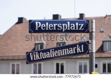Viktualienmarkt in Munich