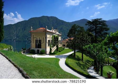 Villa Del Balbianello - stock photo