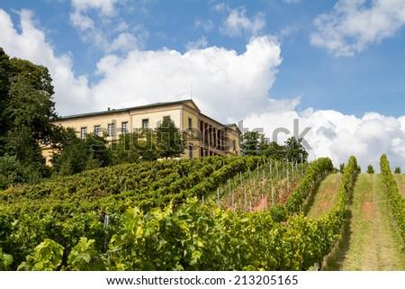 Villa Ludwigshoehe near Edenkoben, Rheinland-Pfalz, Germany - stock photo