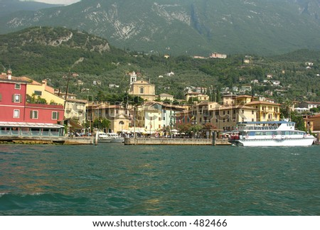 Village at the Garda Lake