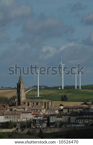village et wind farm