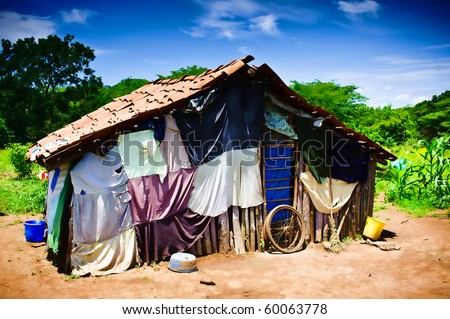 Village Home in Central America