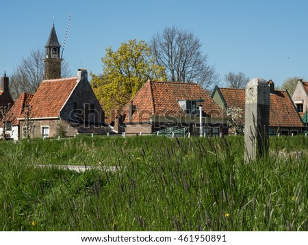 Village in the netherlands