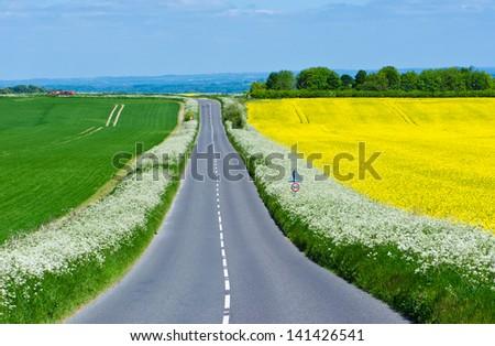 Village Way - stock photo