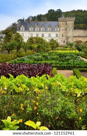 Villand chateau  in the Loire Valley, Francery - stock photo