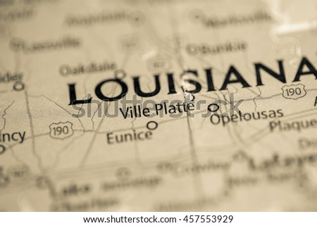 Ville Platte. Louisiana. USA