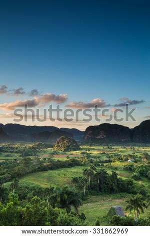 Vinales Valley, Cuba - stock photo