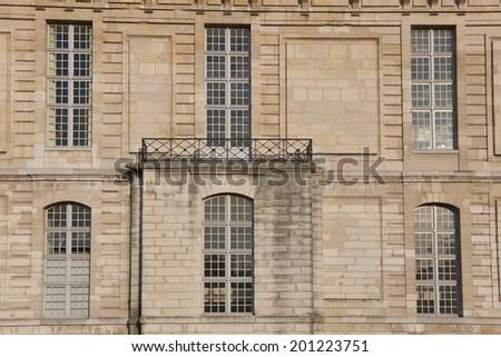Vincennes castle, Paris, Ile-de-france, France - stock photo
