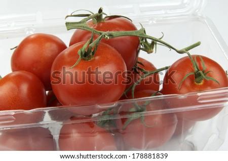 Vine Ripened Tomato's  - stock photo