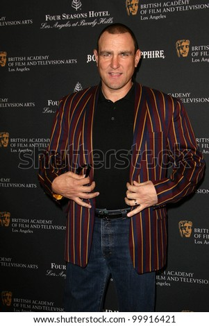 Vinnie Jones at the BAFTA Los Angeles' 17th Annual Awards Season Tea Party, Four Seasons Hotel, Beverly Hills, CA. 01-15-11 - stock photo