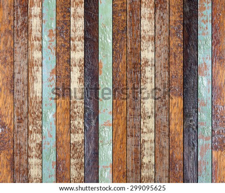 vintage aged of surface wood coarse texture:retro wooden panels wall:rustic plank wood floorboard backdrop:slice of veneer pastel timber tiles for interior,design,decorate:ornament wainscot picture. - stock photo