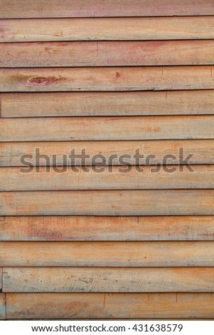 vintage aged red brown wood background texture:retro plywood slice panel walls backgrounds:rustic plank wood floorboards backdrop with vignette:ancient wood tiles stripe for interior,design,decorate - stock photo