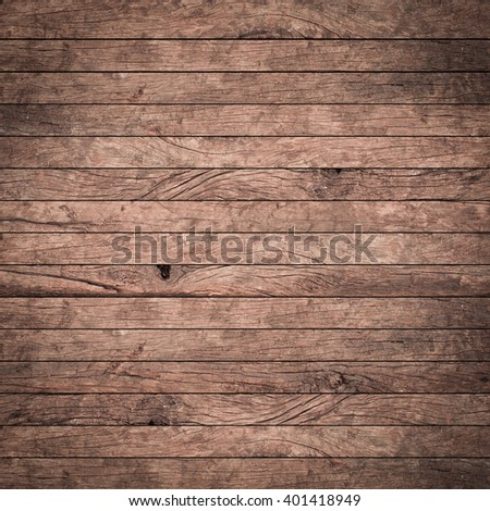 vintage aged red brown wooden background texture with vignette:retro grungy wooden panel wall:rustic plank wood floorboard backdrop with vignette:wood tile stripe:horizon line square frame backdrop - stock photo