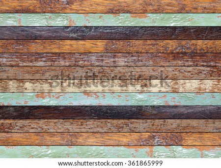vintage aged wooden coarse texture:retro wooden panel walls background:rustic plank wood floorboard backdrop:glazed glossy pastel wood tiles for interior,design,decorate:ornament wainscot picture. - stock photo