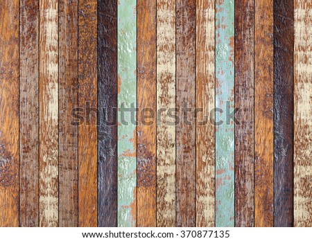 vintage aged wooden coarse texture:retro wooden panel walls backgrounds:rustic plank wood floorboard backdrop:glazed retro pastel wood tiles for interior,design,decorate:ornament wainscot wall picture - stock photo