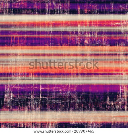 Vintage antique textured background. With different color patterns: purple (violet); pink; black; red (orange) - stock photo