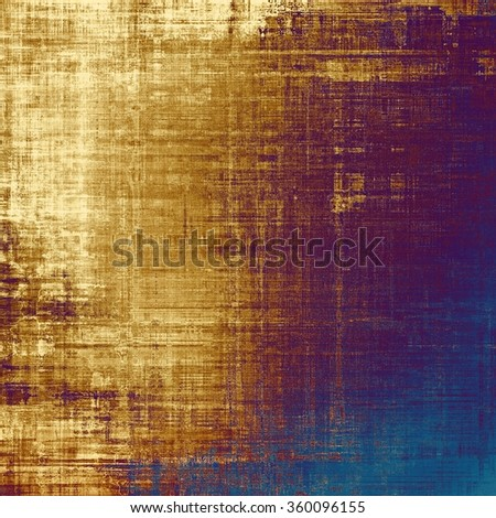 Vintage antique textured background. With different color patterns: yellow (beige); brown; purple (violet); blue - stock photo