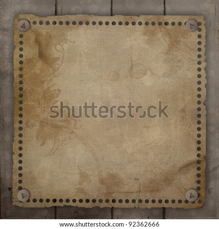 Vintage background - stock photo