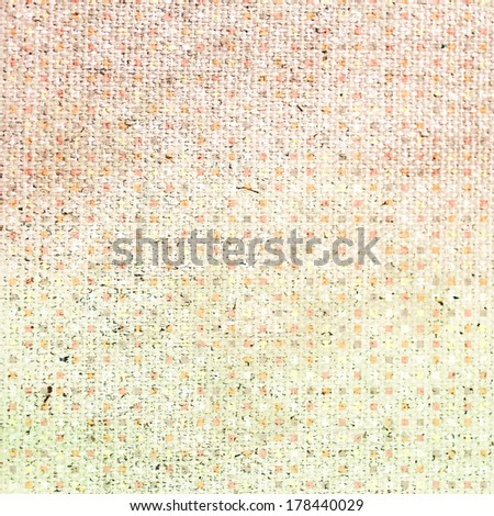 Vintage background. Canvas texture.  - stock photo