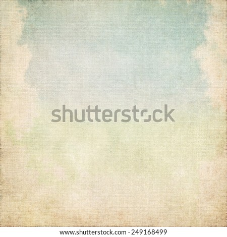 vintage background canvas texture broken wall - stock photo