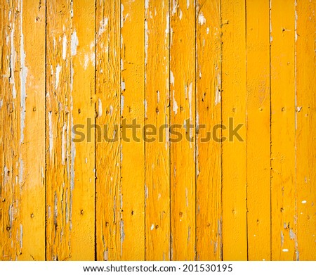 Vintage background from a wooden shabby plank. Toned image - stock photo