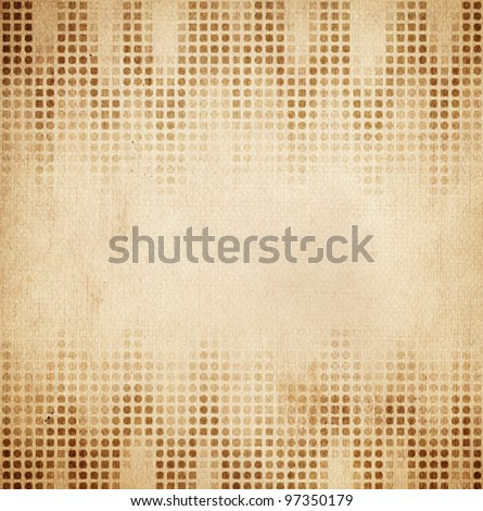 vintage background from grunge paper, retro pattern - stock photo