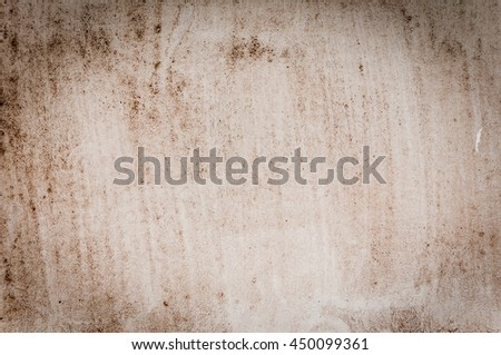 Vintage background of old paper. Light brown. Dirty. Vignette - stock photo