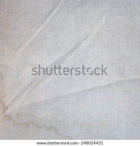 vintage background old canvas texture  - stock photo