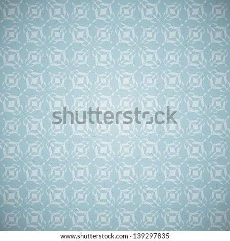vintage background, old wallpaper texture - stock photo