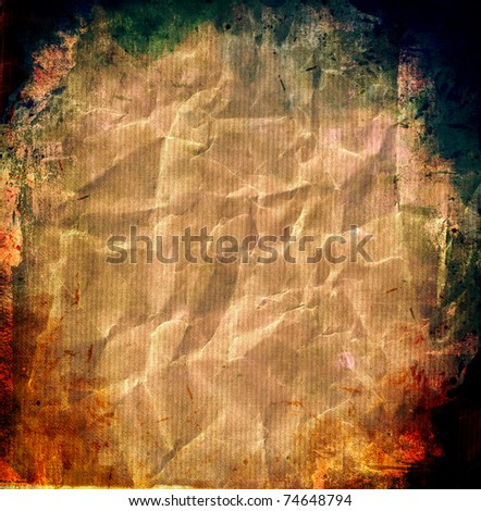 Vintage background paper - stock photo