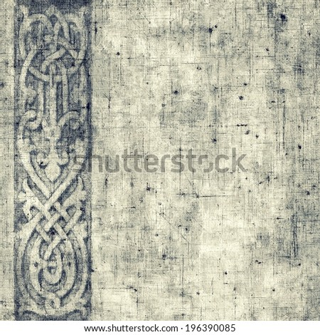 Vintage background pattern - stock photo