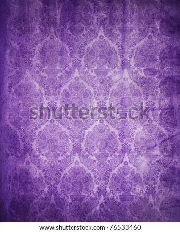 vintage background purple - stock photo