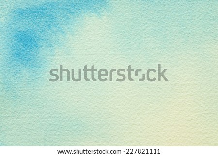 Vintage background, watercolors on paper texture - stock photo