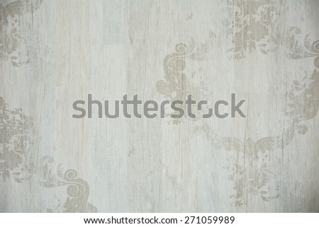 Vintage background with ornament tree structure. - stock photo