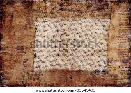 Vintage background with place for your text or image - stock photo