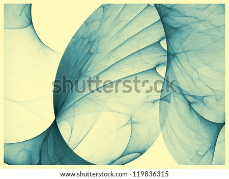 Vintage background with surreal abstraction - stock photo