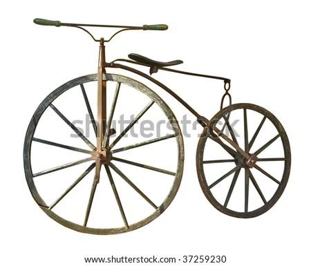 Vintage bike - stock photo