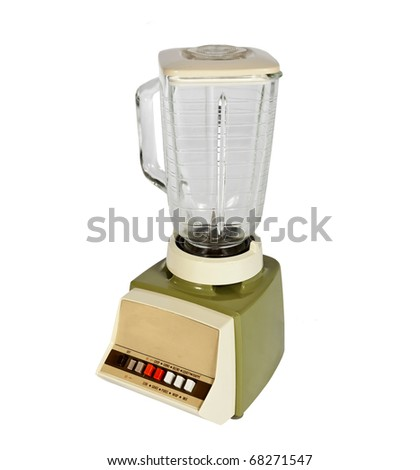 Vintage blender from the late 1960's. - stock photo