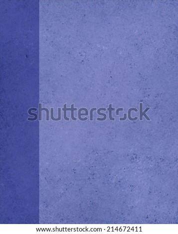 vintage blue background paper texture with darker blue sidebar banner